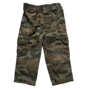 CARTER'S Pull-on Camo Cargo Pant 18 mo